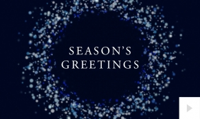wonderful wishes corporate holiday ecard thumbnail