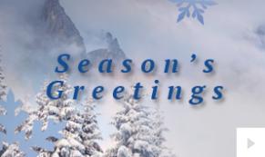 peaceful moments corporate holiday ecard thumbnail