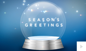 Swirling Wishes corporate holiday ecard thumbnail
