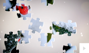 christmas puzzle corporate holiday ecard thumbnail