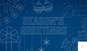 Blueprint Greetings Christmas e-card