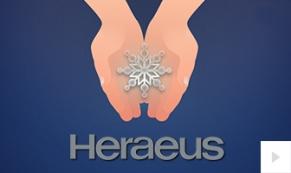 Heraeus Company Hand in Snowflake Thumbnail