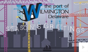 Port of Wilmington Delaware Holiday Company e-card thumbnail