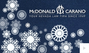 McDonald Carano Company Holiday e-card thumbnail