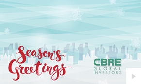 CBRE Global Company Holiday e-card thumbnail