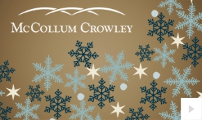 McCollum-Crowley Company Holiday e-card thumbnail