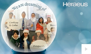 Heraeus Company Holiday e-card thumbnail