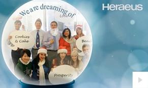Heraeus Company Holiday e-card thumbnail