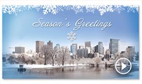 vivid greeting envelope custom holiday thumbnail MIB