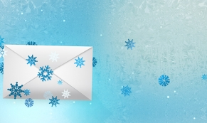 Envelope Float corporate holiday ecard thumbnail