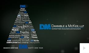 2017 Dannible - custom corporate holiday ecard thumbnail