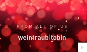 2017 Weintraub Tobin - Warm Wishes corporate holiday ecard thumbnail