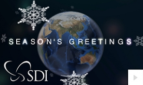2017 SDI - A world turning corporate holiday ecard thumbnail