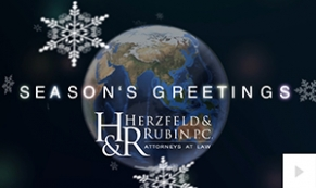 2017 Herzfeld Rubin - a world turning corporate holiday ecard thumbnail