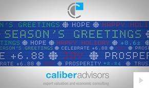 2017 Caliber Advisors - custom corporate holiday ecard thumbnail