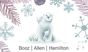 2017 Booz Allen 3 - custom corporate holiday ecard thumbnail