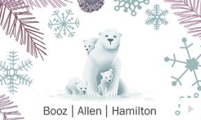2017 Booz Allen 3 - custom corporate holiday ecard thumbnail