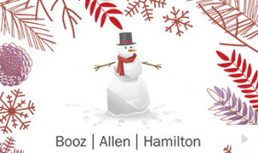 2017 Booz Allen 2 - custom corporate holiday ecard thumbnail