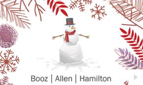 2017 Booz Allen 2 - custom corporate holiday ecard thumbnail