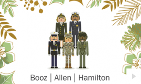 2017 Booz Allen 4 - custom corporate holiday ecard thumbnail