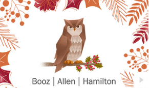 2017 Booz Allen 5 - custom corporate holiday ecard thumbnail