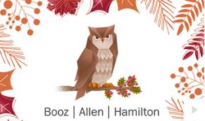 2017 Booz Allen 5 - custom corporate holiday ecard thumbnail