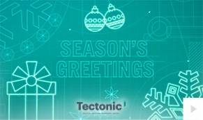 2017 Tectonic - holiday blueprint corporate holiday ecard thumbnail