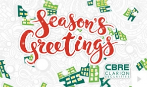 2017 CBRE - custom corporate holiday ecard thumbnail