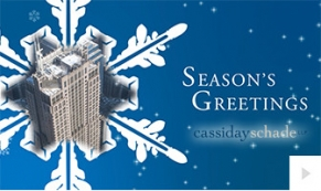 2017 Cassidy Schade - custom corporate holiday ecard thumbnail