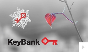 2017 Keybank - Moment of Winter corporate holiday ecard thumbnail