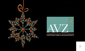 2017 AVZ - snowdrops corporate holiday ecard thumbnail