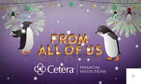 2017 Cetera - Playful Penguins corporate holiday ecard thumbnail