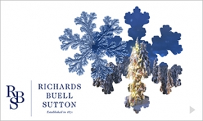 2017 RBS - Snowflake Window corporate holiday ecard thumbnail