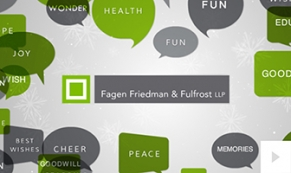 2017 Fagen Friedman Fulfrost - vibrant wishes corporate holiday ecard thumbnail
