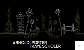 Arnold & Porter 2017 corporate holiday ecard thumbnail