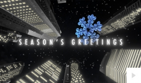 city skyward corporate holiday ecard thumbnail