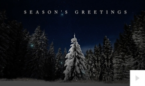 Forest Wish corporate holiday ecard thumbnail