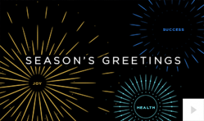 Exuberance NEW YEAR Vivid Greetings video corporate ecards thumbnail