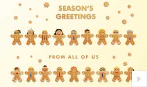 Gingerbread Greetings