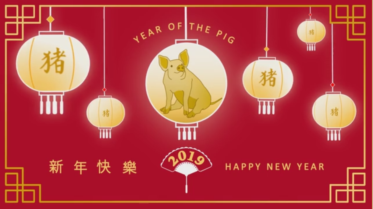 Chinese New Year 2019 Version 2 Vivid Greetings