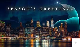 Light Rising corporate holiday ecard thumbnail