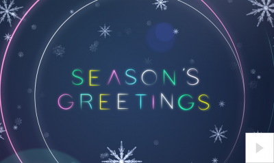 colorful lines Vivid Greetings video corporate ecards thumbnail