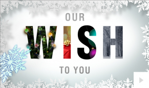 Hidden Wishes corporate holiday ecard thumbnail