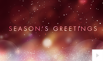 stellar sentiments - red version corporate holiday ecard thumbnail