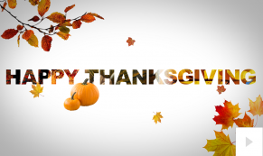seasonal sentiment thanksgiving Vivid Greetings video corporate ecard