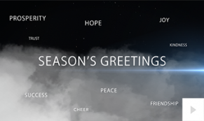 holiday flight Vivid Greetings video corporate ecard thumbnail