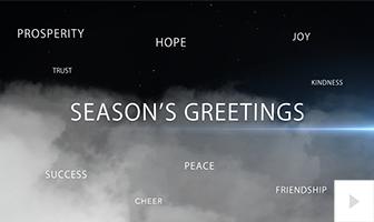 holiday flight Vivid Greetings video corporate ecard thumbnail