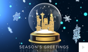 2018 Gleaming Globe corporate holiday ecard thumbnail