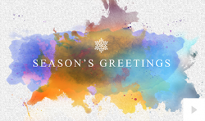 watercolor impressions Vivid Greetings video corporate ecards thumbnail