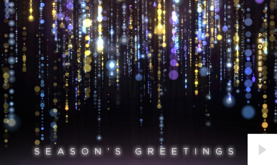 Glittering Wishes - multi-color version